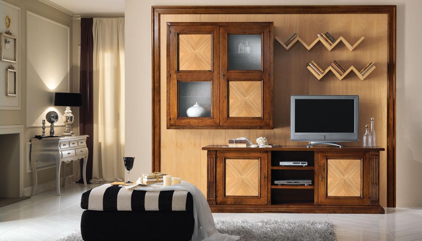 Dm mobili - Mobili soggiorno classico ...